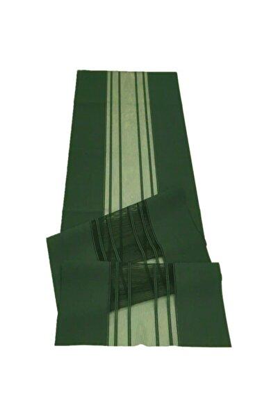 Lazer Kesim Haki Yeşil Runner 40*140