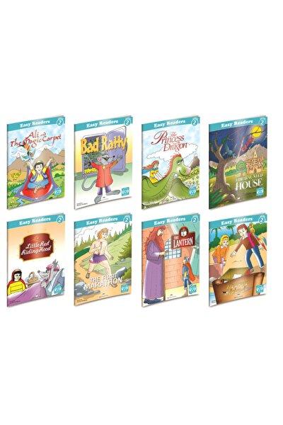 Easy Readers -2 ( 2. Düzey ) ( 8 Adet ) Ingilizce Hikaye Seti Toplam 128 Sayfa. Çocuklar Için