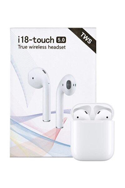 Airpods I18-touch Bluetooth Kulaklık Apple Iphone Android Uyumlu Ultra Hd Ses Kalitesi