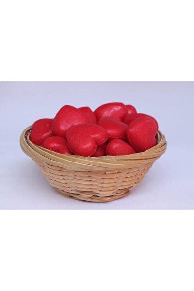 Kırmızı Kalpli Kalıcı Kokulu Sabun 5'li