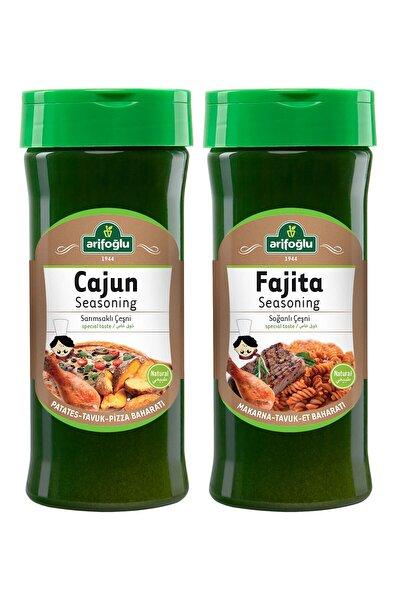 Cajun Seasoning Pet 230gr + Fajita Seasoning Pet 230gr 2'li Set
