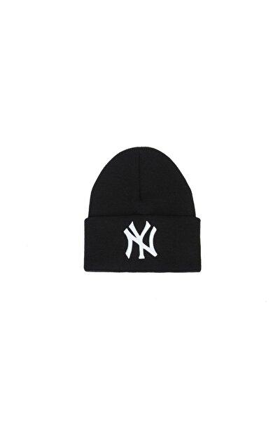 Ny New York Siyah Bere Unisex