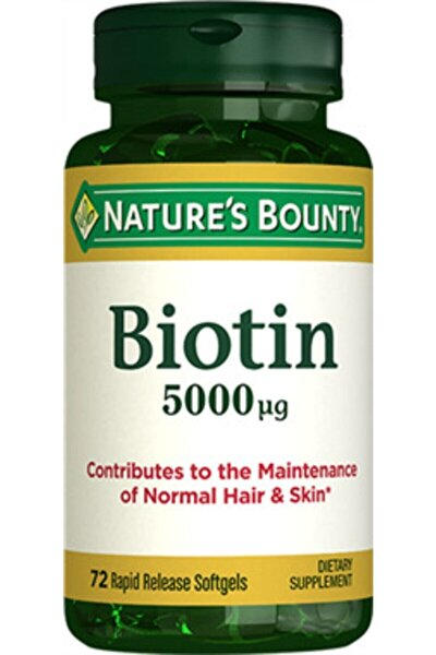 Nb Biotin 5000 Mcg 72 Kapsül