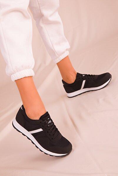 Siyah Kadın Sneaker 15277