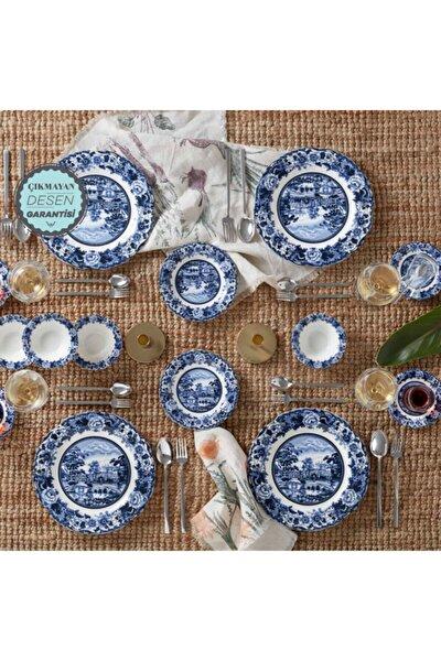 Blue Odyssey  26 Parça 6 Kişilik Kahvaltı Takımı
