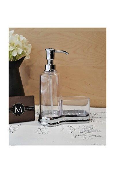 Gümüş Akrilik Sıvı Sabunluk