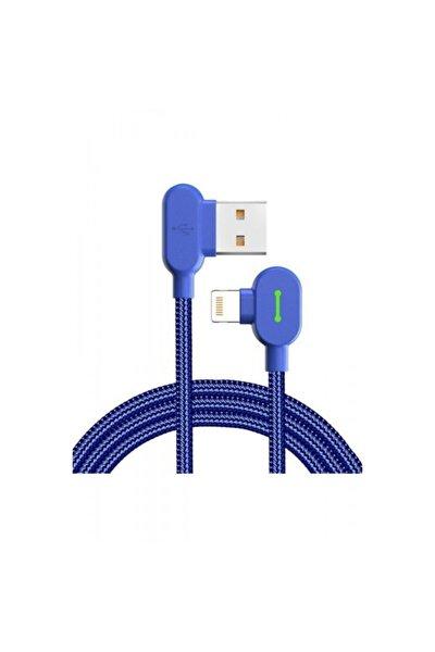Mavi Iphone Uyumlu Data Ve Şarj Kablosu Ca-4678 1.8 mt