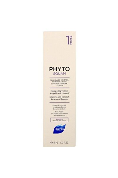 Squam Intense Shampoo 125 ml