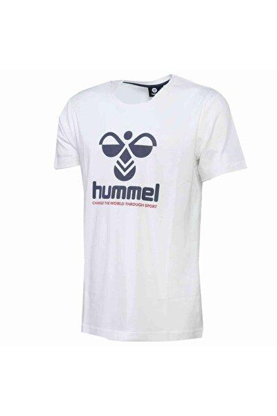 HMLCENTIL T-SHIRT S/S Beyaz Erkek T-Shirt 101086301