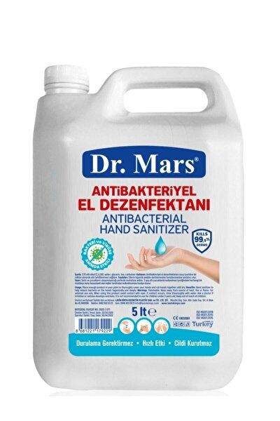 Antibakteriyel El Dezenfektanı 5 lt 1 Adet