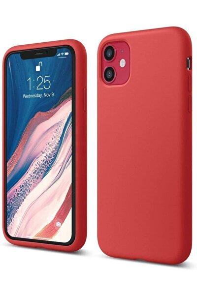 """Iphone 11 6.1"""" Içi Kadife Lansman Silikon Kılıf"""