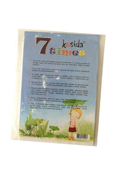 Kosida Yedi Kat Küçülen Kağıt A4 2'li Paket 36655