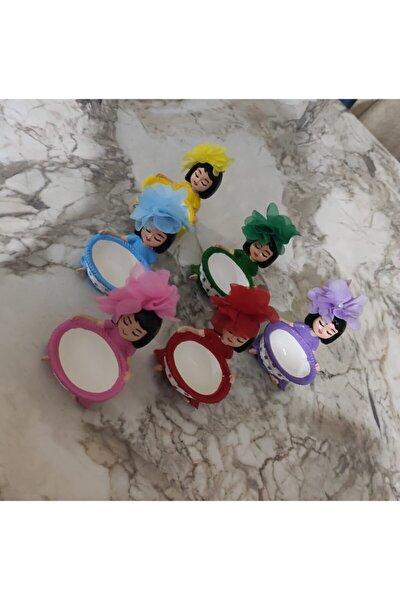 Lokumcu Kız Çiçekli 6 Adet 6 Farklı Renk