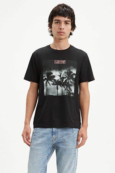 Erkek Graphic Crewneck T-Shirt 22491-0644