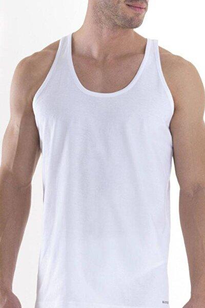9225 Erkek Atlet 2'li Paket Loose Fit - Beyaz - L