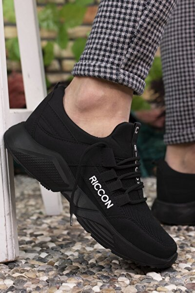 Unisex Siyah Sneaker 0012072