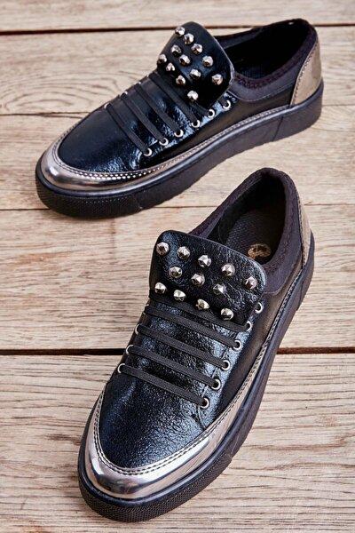 Siyah Kadın Casual Ayakkabı K01566035042