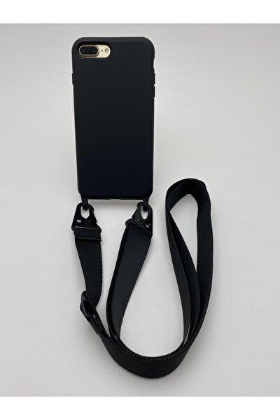 Iphone 7plus/8plus Uyumlu Askılı & Içi Kadife Koruyuculu Lansman Kılıf
