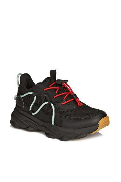 Baxi Unisex Çocuk Siyah Sneaker