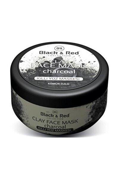 Black & Red Killi Yüz Maskesi Kömür Özlü 400gr
