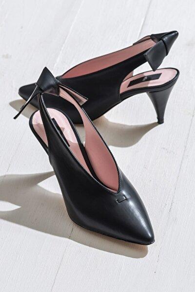 NELIDAA Siyah Kadın Ayakkabı