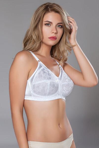 Kadın Beyaz Toparlayıcı Sütyen MML10525