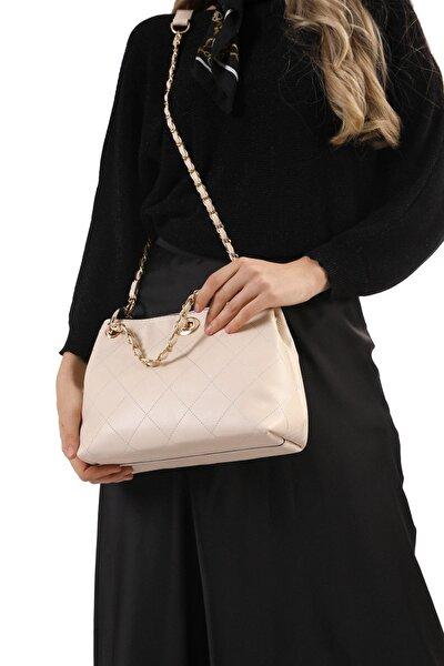 Kadın Bej Lusi Çanta