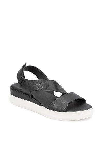TRV910033 Siyah Kadın Sandalet 100373456