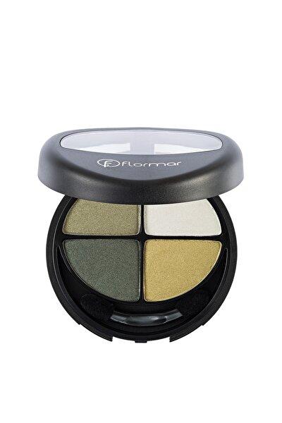 4'lü Göz Farı - Quartet Eyeshadow Green Garden 12 g
