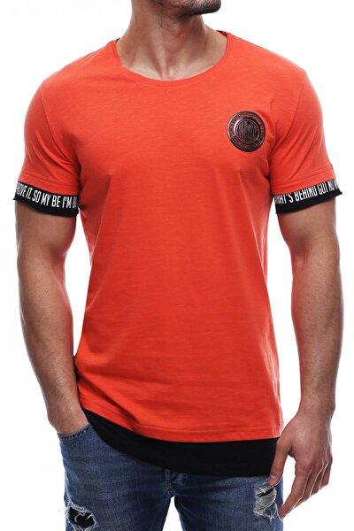 Erkek Turuncu T-shirt - 2623