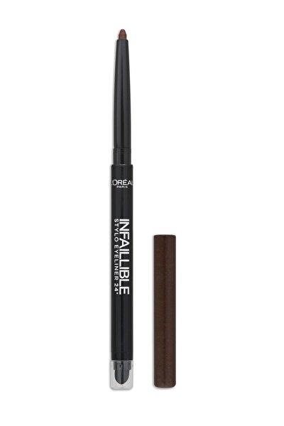 Kahverengi Eyeliner - Infallible Stylo Eyeliner 16H 300 Chocolate Addict 3600521663516