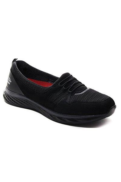 Kadın Siyah Yürüyüş Ayakkabısı Frlceyhansiyah