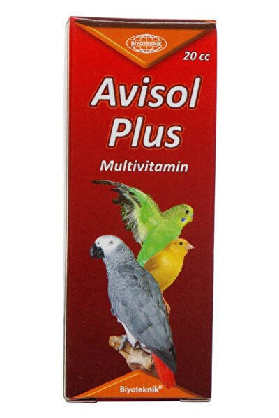 Avisol Plus Kafes Kuşları İçin Sıvı Multivitamin 20 cc