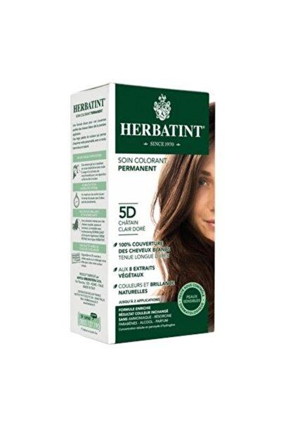 Saç Boyası - Light Golden Chestnut 5D Altın Açık Kahve 150 ml 8016744500128