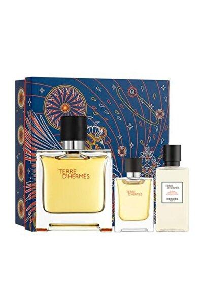 Terre D' Pure Edp 75 ml + Mini 12.5 ml Erkek Parfüm + 40 ml After Shave Lotion Set 3346131433476