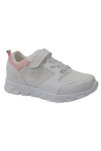 OKA J MESH Beyaz Kız Çocuk Koşu Ayakkabısı 100493609