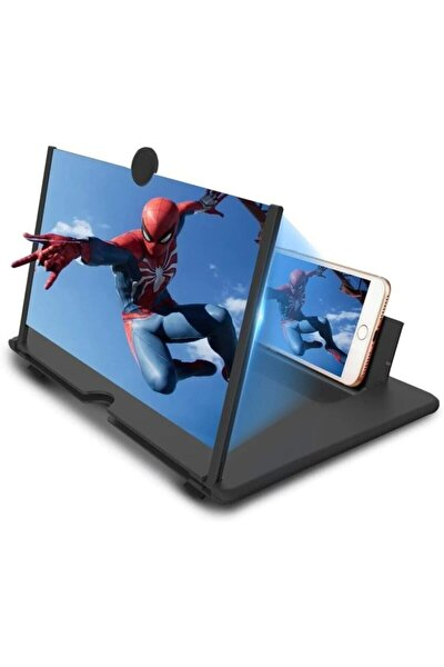 Kılıfreyonum Telefon Ekran Büyütücü Özellikli Mercek Büyüteç Stand 3d-1