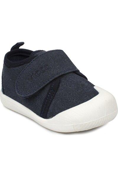 Unisex Bebek Lacivert İlk Adım Ayakkabısı