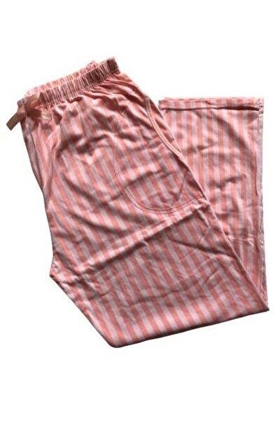 Kadın Pudra Battal Pijama Altı