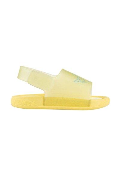 Sarı Kız Çocuk Sandalet