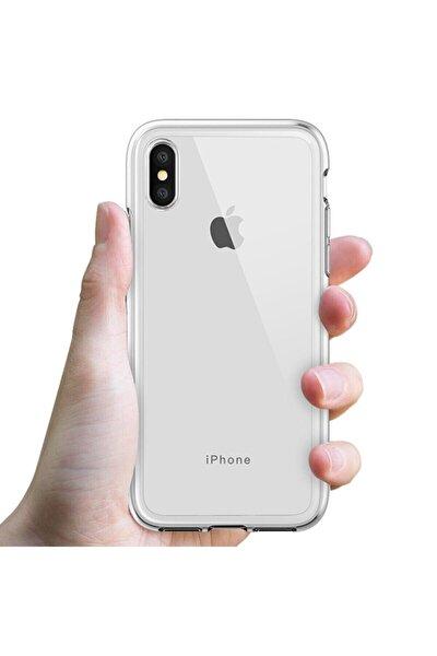 Iphone X Şeffaf Kılıf Kenarları Koruma Çizgili Sararma Yapmaz
