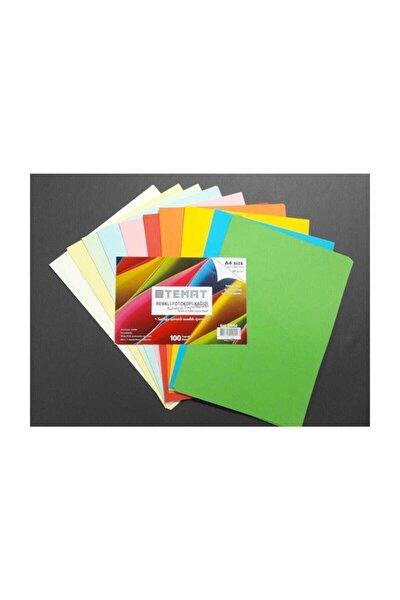 100'lü Renkli A4 Fotokopi Kağıdı Gk00544 Kampanyalı