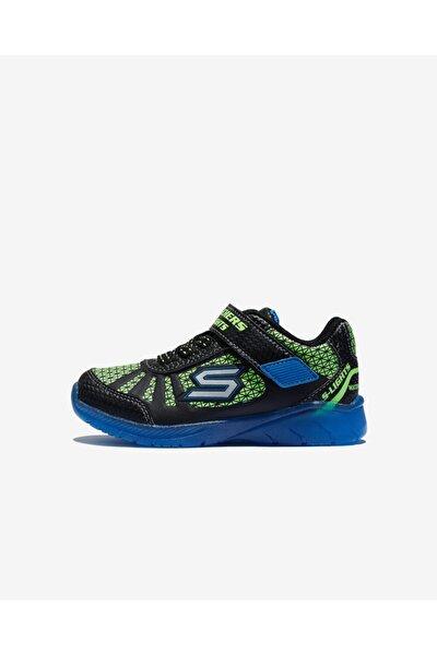 ILLUMI-BRIGHTS Küçük Erkek Çocuk Siyah Spor Ayakkabı