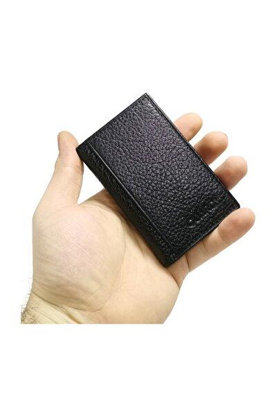 1169 Siyah Deri Kartlık