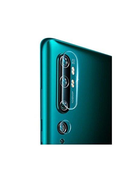Xiaomi Mi Note 10-cc9 Pro Tempered Kırılmaz Kamera Koruyucu Cam - Şeffaf