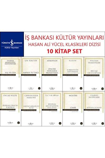 Iş Bankası Hasan Ali Yücel Klasikler Dizisi 10 Kitap Set Dostoyevski-tolstoy-aiskhylos-platon