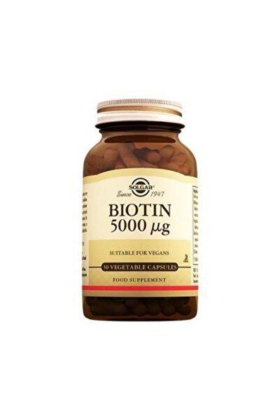 Biotin 5000 Mcg 50 Kapsül
