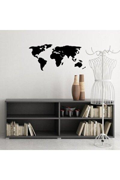 Dekoratif Dünya Haritası - 60x140 - Mdf Duvar - 3mm