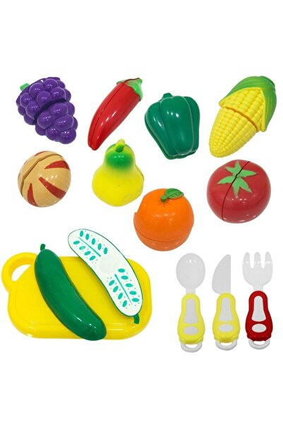 Kutulu Meyve Ve Sebze Kesme Seti 22 Parça