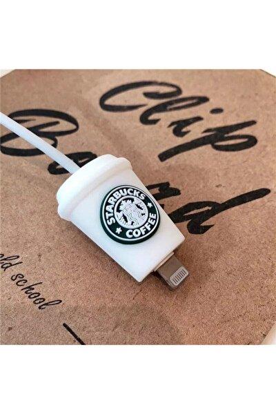 Sevimli Starbucks Kablo Koruyucu